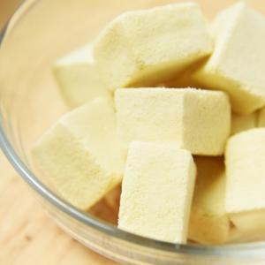 高野豆腐を使って「白い麻婆豆腐」