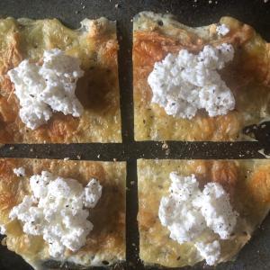 ダブルチーズきのこ煎餅