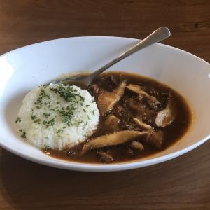 干し椎茸の旨味で作るハッシュドポーク@ジャポネスク