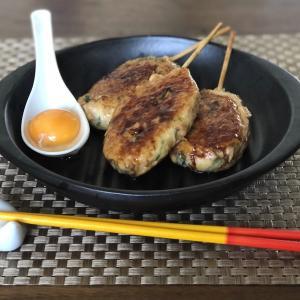 フライパンで作る【鶏肉と島豆腐のつくね棒】
