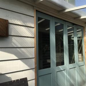 DIYのベース基地 作業小屋の全貌