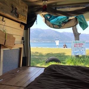 車中泊 寝具選びと積み下ろしの解決