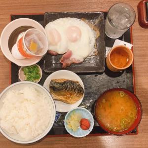 【今日のサウナ飯】サウナイーグルで朝食を食べてきました!(+施設の解説あり)