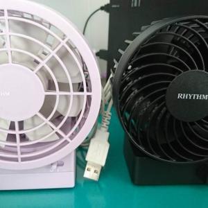 【夏の準備】リズム時計工業(RHYTHM)の卓上扇風機が優秀!!
