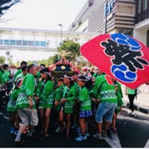 今年(2020年)の第12回ふるさと田中みこし祭りは中止になりました