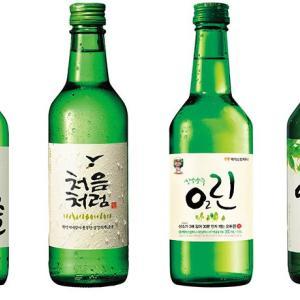 韓国焼酎 ソジュ1瓶の量がいい感じにもう一本!ってなる
