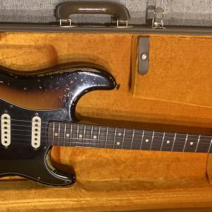 【究極のレリック】Fender custom shop MBS 1963 Stratocaster Ultimate Relic by John cruz 2012