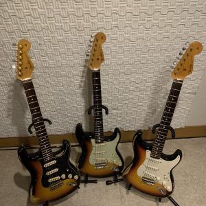 【MBS】Fender C/Sのギターを弾き比べしてみた【TBC】