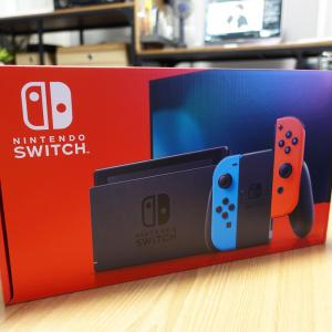 ひょんな事から新型Switchに乗り換え