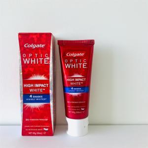 海外製ホワイトニング歯磨き粉の効果