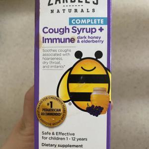 【アメリカの子供用市販薬】子供の咳や喉の痛みにはこれ!
