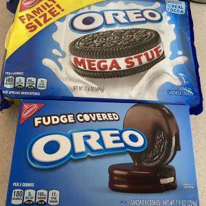 アメリカのオレオは種類豊富!MEGA STUFとチョコがけオレオを試してみた!