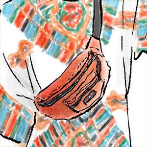 GIRAFE MAGAZINEでスエーデンのスニーカーブランドOn(オン)とのタイアップ記事のイラストを描かせていただきました。