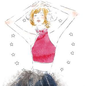 女性ファッション誌やmook本向けの12星座のイラストを描きました。