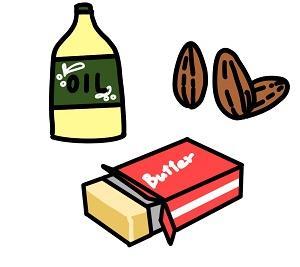 脂質の質を極め、ダイエットに効果的な脂質を摂っていくぅ