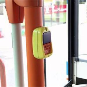 必ず止まるバス停、ボタンは必要・・・??