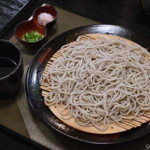奥多摩産ワサビが、ピリリと旨い、青梅・和樂の手打ち蕎麦