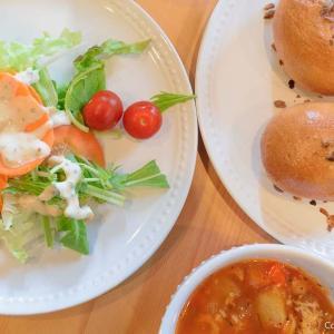 羽村の「はるのひ bagel bakery」は、国産小麦のベーグルが、食べ放題!