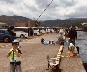 【福井県の釣り】小浜新港でゆるーく五目釣り!釣果は…【5月】