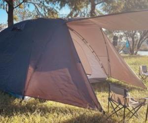 フィールドアのドームテント「FIELD CAMP DOME 300」の実際。
