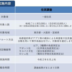新型コロナ、厚労省が実施した抗体保有調査の結果
