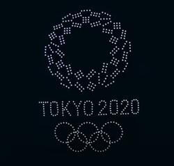 東京五輪開会式のドローンショー