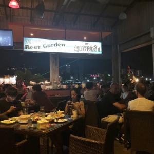 Pattaya Beer Garden(パタヤ ビア ガーデン)で海を見ながら食事!WS至近のレストラン!