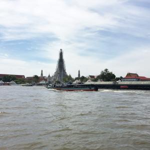 2017年1月タイ旅行記「タイとの出会い~衝撃~」その6 チェックアウト・寺院