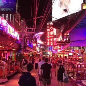 2017年8月タイ旅行記2「タイ、再び~油断~」その5終 夜の街での出会い