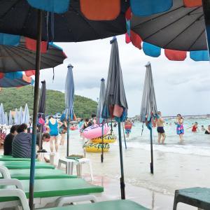 2017年11月タイ旅行記3「パタヤトリップ~遭遇~」その3 ボートでラン島へ