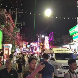 2017年11月タイ旅行記3「パタヤトリップ~遭遇~」その5終 パタヤラストナイト!