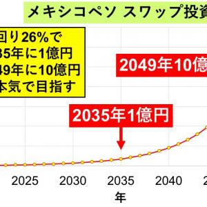 2037年までに1億円?!→年間スワップ205万円・利回り25.6%見込、わりと本気の高金利通貨@8週目
