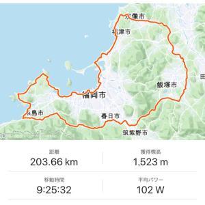 2018年 ブルベ1年目 9月8日   BRM 嘉麻200km糸島