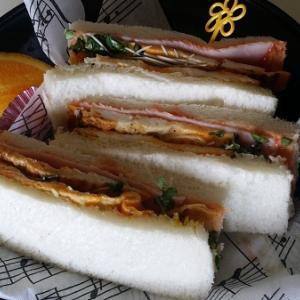 直ぐできる・・サンドイッチ
