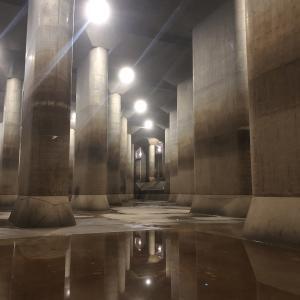 地下神殿の首都圏外郭放水路へ行ってきました。