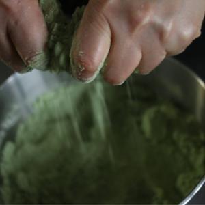 ルバン種で抹茶スコーン、酵母の働き、発酵させるおいしさ