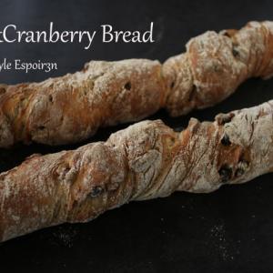 自家製ホップ酵母でライ麦を楽しむ「ナッツ&クランベリーブレッド」