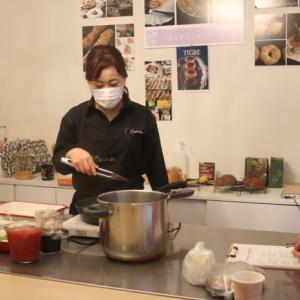 お料理のプライベートレッスン「ビーフシチュー」を作りました。