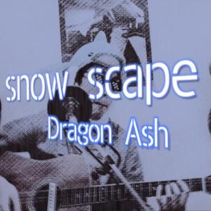 【snow scape】Dragon ashの雪山を駆け抜ける、音速ロック!!!