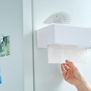 【キッチンペーパーホルダー】サッと使えて、サッと補充♪♪(´∀`)キッチンでの取り回しが格段にアップっ!!(。´・∀・)ノ