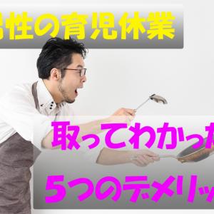 イクメン日記vol.73(7/9) 【男性の育児休業】取ってわかった5つのデメリット