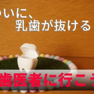 イクメン日記vol.85(7/21) ついに、乳歯が抜ける…?歯医者に行くべし!!