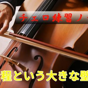 イクメン日記vol.85(7/22) 【チェロ練習ノート】音程という大きな壁……