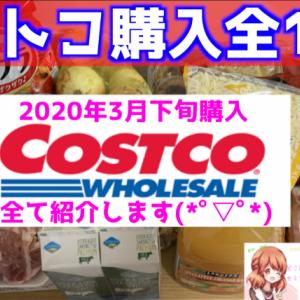 【コストコ購入品】3月下旬の購入商品を全て紹介します!