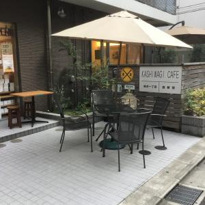 KASHIWAGIカフェでのんびり休憩