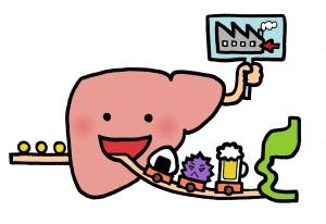 肝臓が調子悪い時のSOSサインも見逃さないで!!肝臓も無口だからね。&今日の占い【よーーく考えよう07】