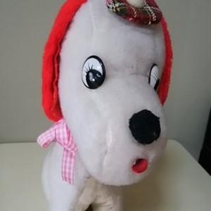昭和レトロ 犬のぬいぐるみ