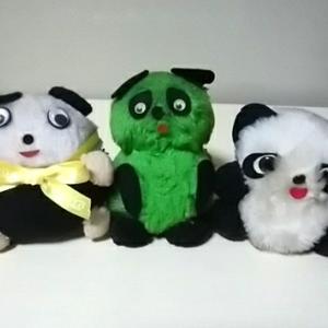 昭和の変なパンダたち