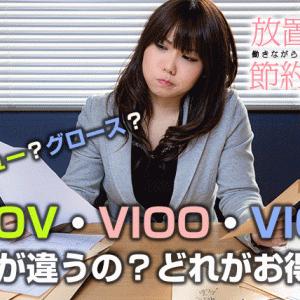 【VIOV・VIOO・VIOG】何が違うの?どれがお得?