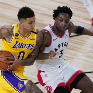 【NBA】レイカーズ VS ラプターズ(2020.8.2)~新たな課題が見つかったものの、クズマがディフェンスの弱点を克服!!~